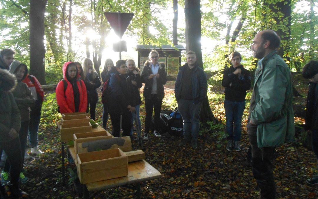 Erkundung des Geisterholzes als Naturschutzgebiet