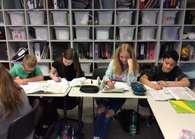 Drei Niveaustufen in den Hauptfächern Deutsch, Englisch und Mathematik