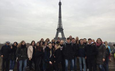 Französischkurs besucht Frankreichs Hauptstadt Paris