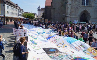 "Gesamtschüler nehmen an ""Fridays-For-Future""-Veranstaltung in Hamm teil"