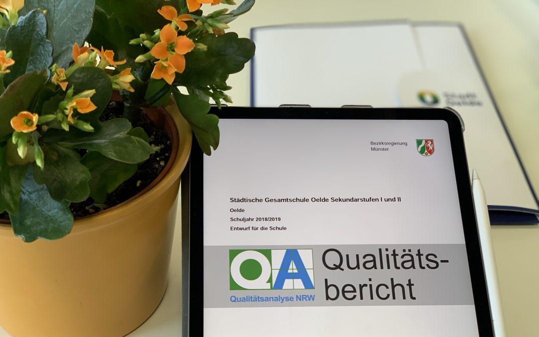 Rückmeldung zur Qualitätsanalyse
