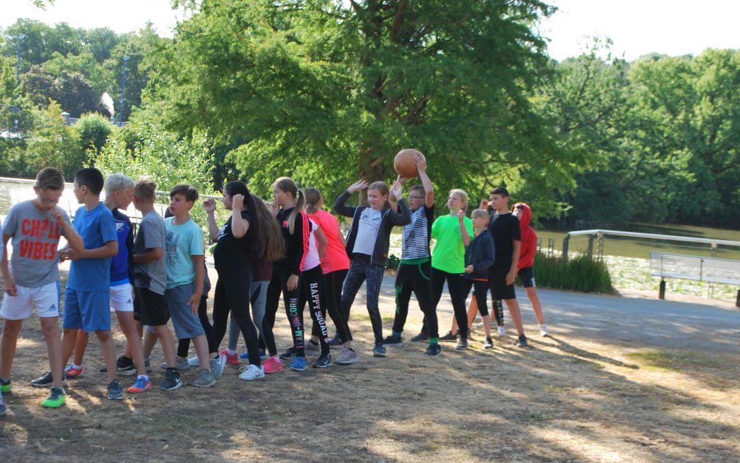 Sportfest und Bundesjugendspiele an der Gesamtschule