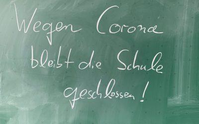 Schulschließung aufgrund der Corona-Infektionen