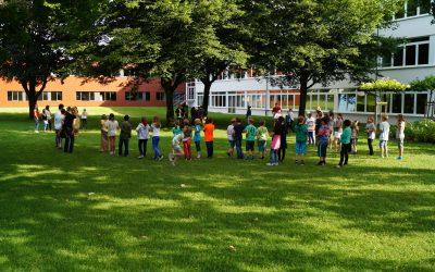 Einladung zum Schulfest: 5 Jahre städtische Gesamschule Oelde