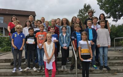 Schüler präsentieren Ergebnisse aus lif-Projekt