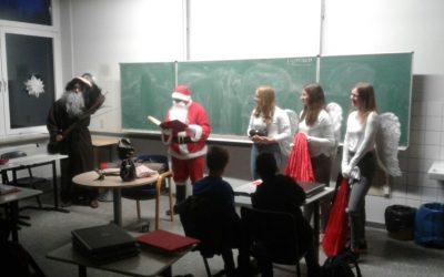Nikolaustag an der Gesamtschule