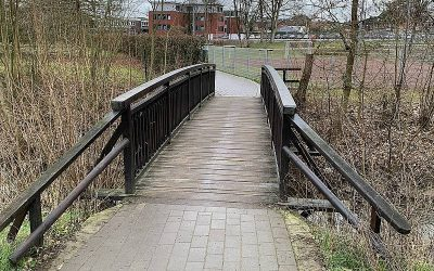 Unfall an der Axtbachbrücke