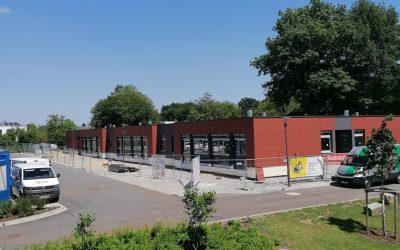 Neues Fachraumgebäude zum Einzug bereit