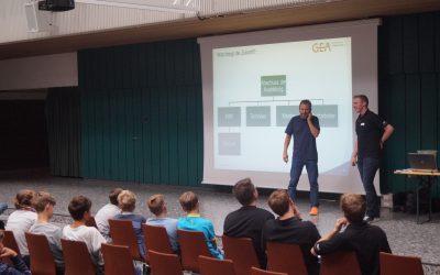 Vorstellung Ausbildungsberufe der Firma GEA