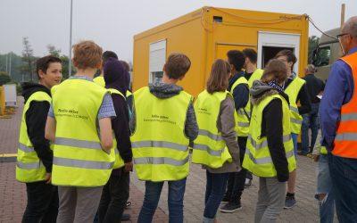 Besuch der Müllverbrennungsanlage Ennigerloh im Rahmen der Berufswahlorientierung