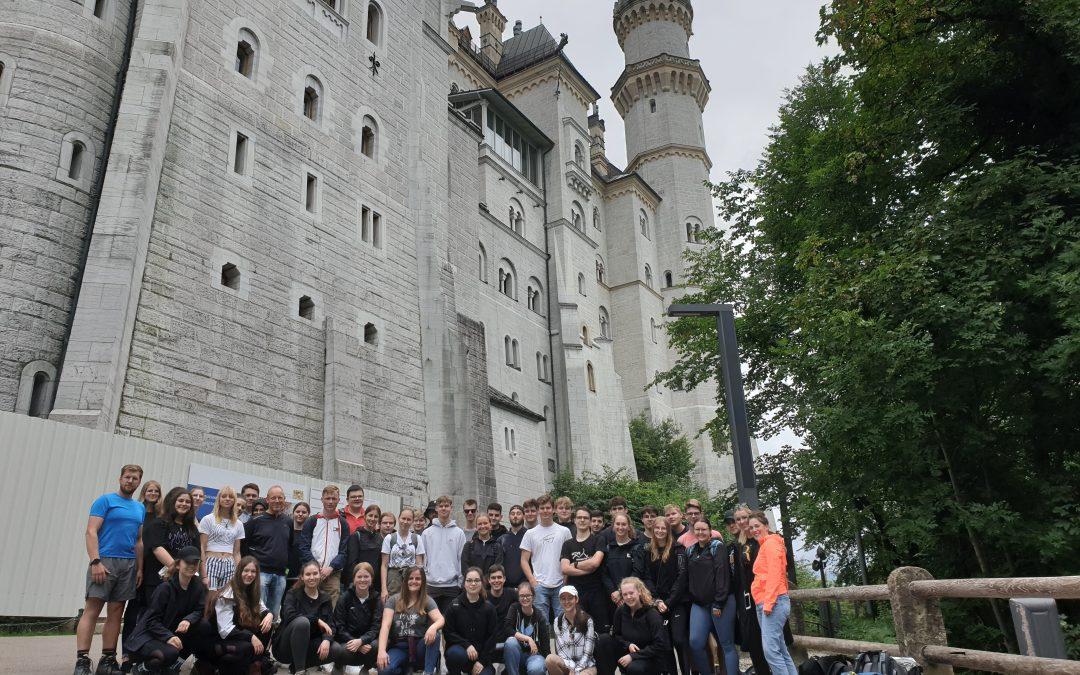 Erste Studienfahrt des Abiturjahrgangs an der Städtischen Gesamtschule Oelde